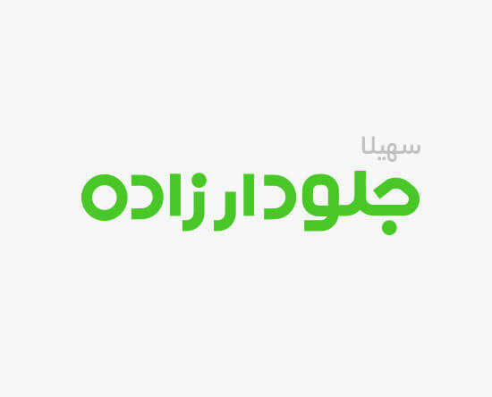طراحی لوگو تایپ سهیلا جلودارزاده برای انتخابات مجلس 11