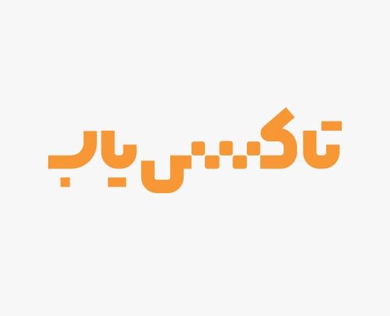 طراحی لوگو تایپ اپلیکیشن موبایل تاکسی یاب