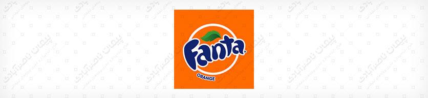 رنگ نارنجی - طراحی لوگوی نوشیدنی فانتا