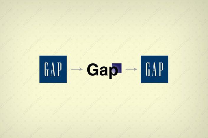 طراحی لوگو گپ