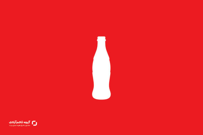 بطری کمر باریک، برگ برنده طراحی لوگو کوکاکولا