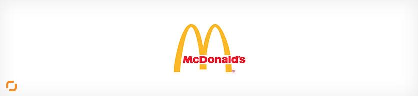 طراحی لوگو به روش مونوگرام (شرکت مک دونالد)