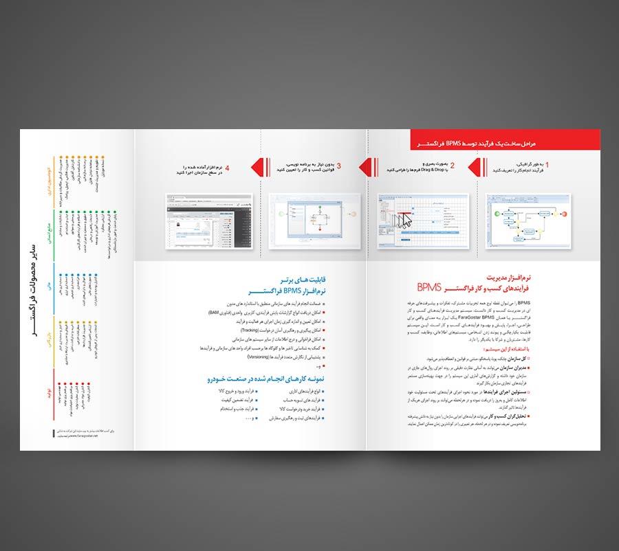 طراحی و چاپ کاتالوگ 3 لت BPMS فراگستر