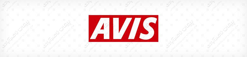 رنگ طراحی لوگوی شرکت اٍویس