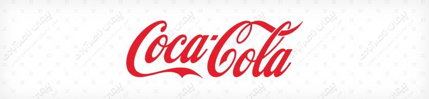 رنگ طراحی لوگوی کوکاکولا