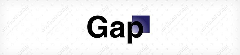 طراحی لوگو گپ (جدید)