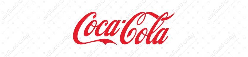 رنگ قرمز - طراحی لوگو تایپ کوکاکولا