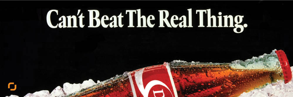 شعار اصل جنس در تبلیغات کوکاکولا