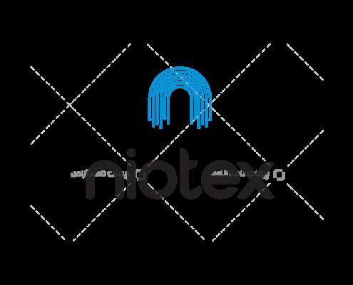 طراحی لوگو برند آلمانی نایوتکس