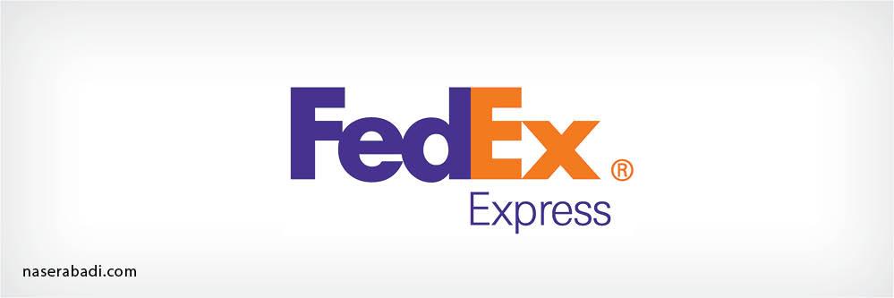 لوگو فدکس - fedex logo