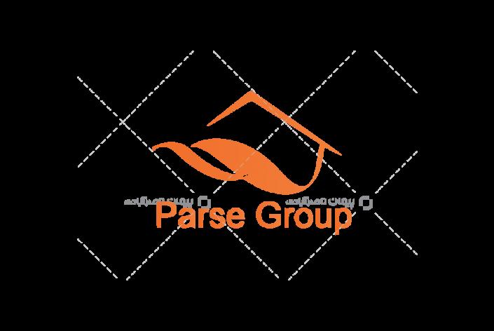 طراحی لوگو شرکت دکوراسیون پارسه