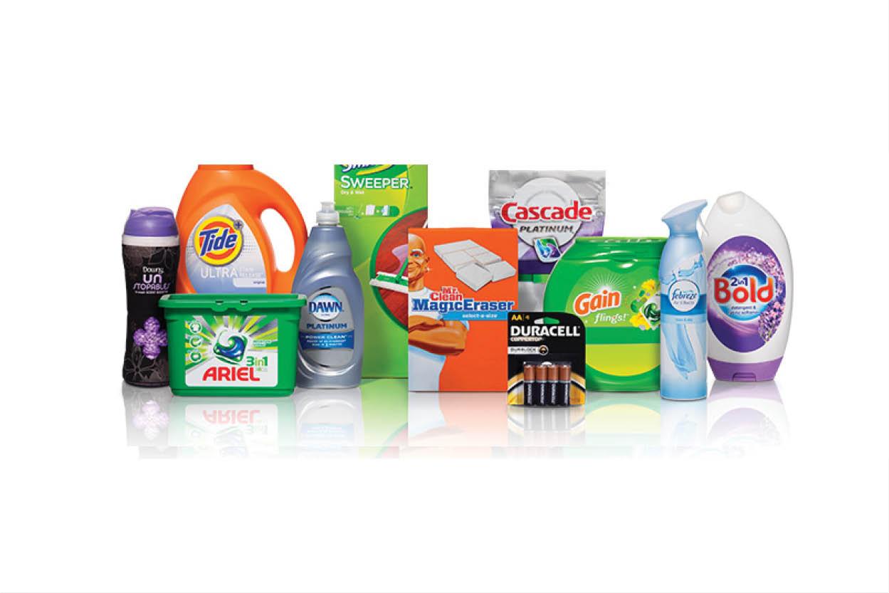 برندهای مجزای محصولات پراکتر اند گمبل
