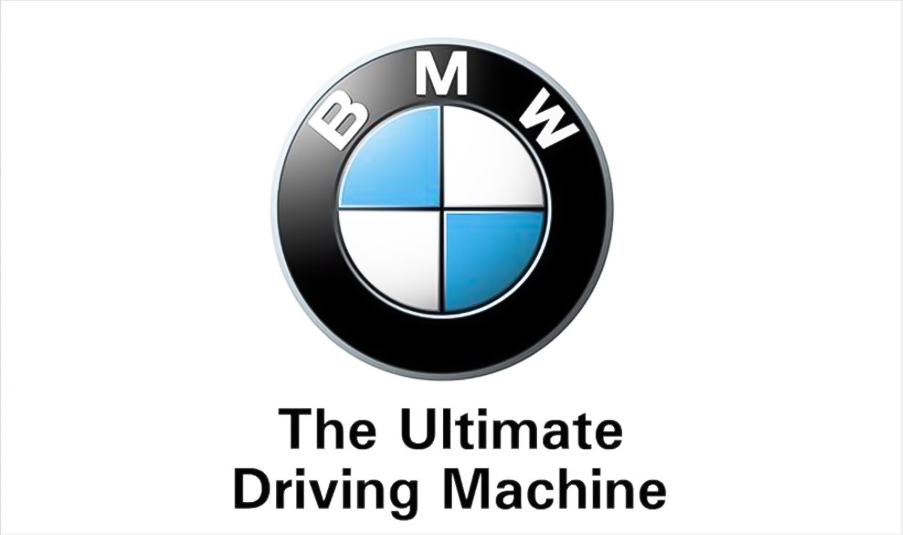 شعار تبلیغاتی BMW