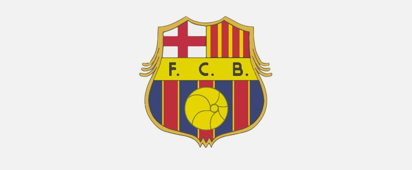 لوگو بارسلونا سال ۱۹۲۰