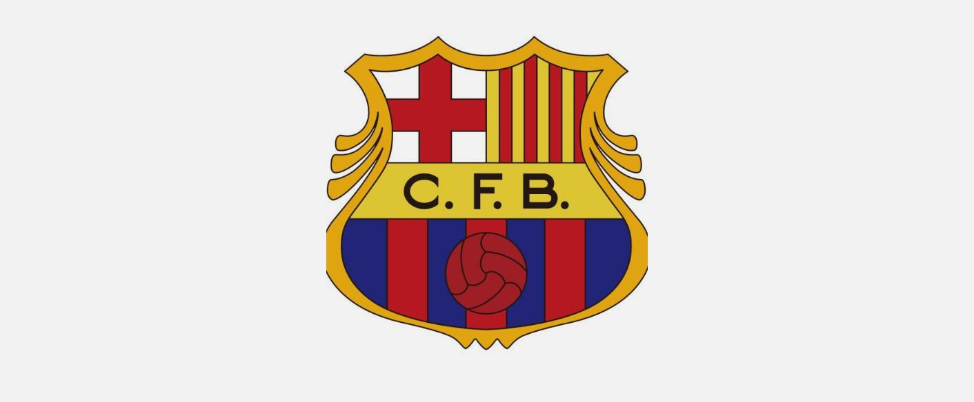 لوگو بارسلونا سال ۱۹۴۹