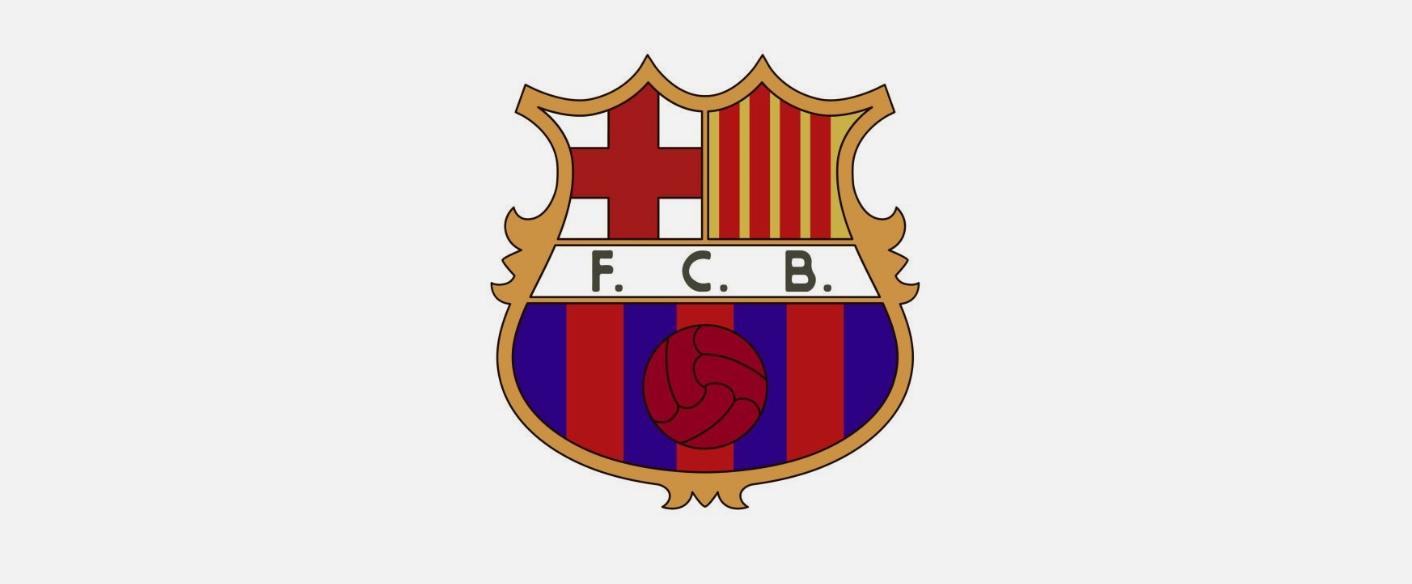 لوگو بارسلونا سال ۱۹۶۰